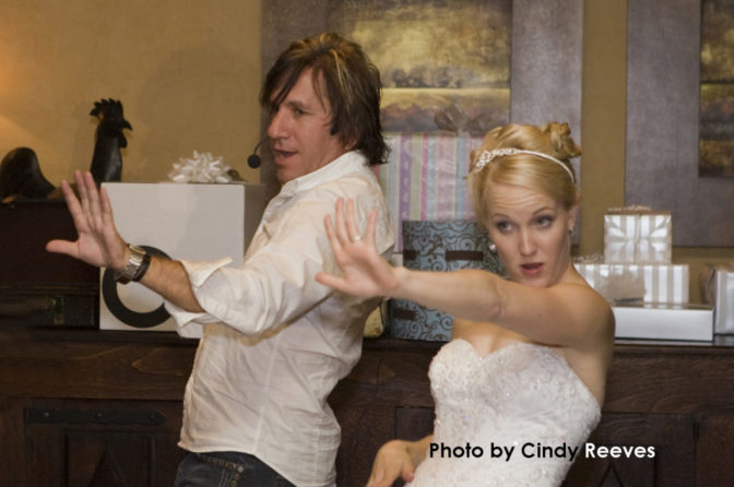 Fantastically fun wedding at Pebble Creek Golf Club in 2008.